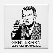 Gentlemen Tile Coaster