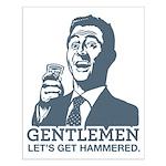 Gentlemen Small Poster