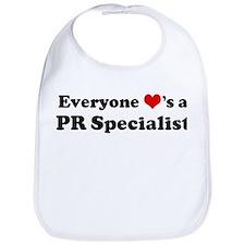 Loves a PR Specialist Bib
