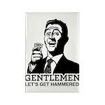 Gentlemen Rectangle Magnet (100 pack)