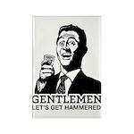 Gentlemen Rectangle Magnet (10 pack)