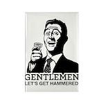 Gentlemen Rectangle Magnet