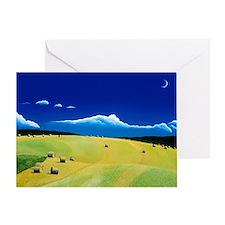 """""""Leyden Hayfield"""" Greeting Card"""