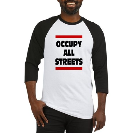 Occupy All Streets: Baseball Jersey