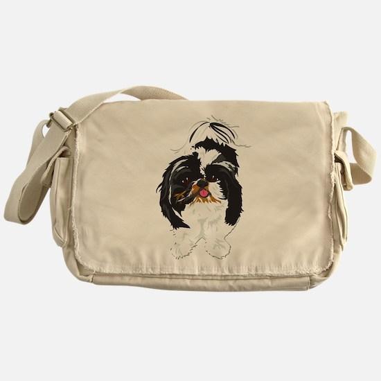 Shitzu Messenger Bag