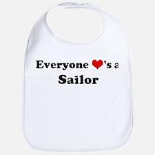 Loves a Sailor Bib