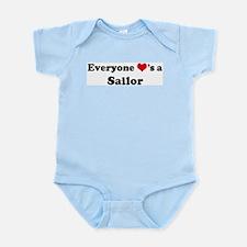 Loves a Sailor Infant Creeper