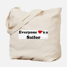 Loves a Sailor Tote Bag