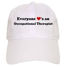 Loves a Occupational Therapis Baseball Cap