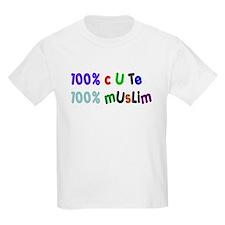 100% cute 100% muslim T-Shirt