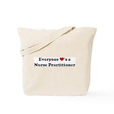 Loves a Nurse Practitioner Tote Bag