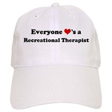 Loves a Recreational Therapis Baseball Cap
