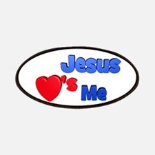 Jesus Loves Me Patches