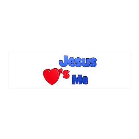 Jesus Loves Me 21x7 Wall Peel