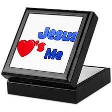 Jesus Loves Me Keepsake Box