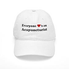 Loves a Acupuncturist Baseball Cap