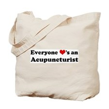 Loves a Acupuncturist Tote Bag