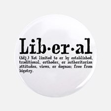 """Definition of Liberal 3.5"""" Button"""