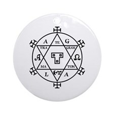Hexagram of Solomon Ornament (Round)