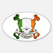 O'Brien Skull Decal