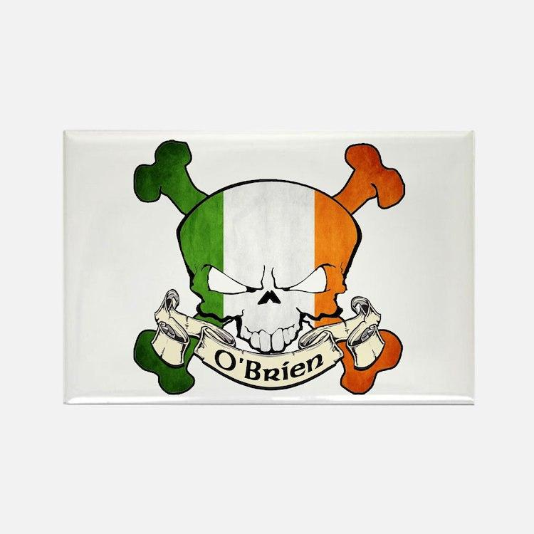 O'Brien Skull Rectangle Magnet