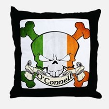 O'Connell Skull Throw Pillow