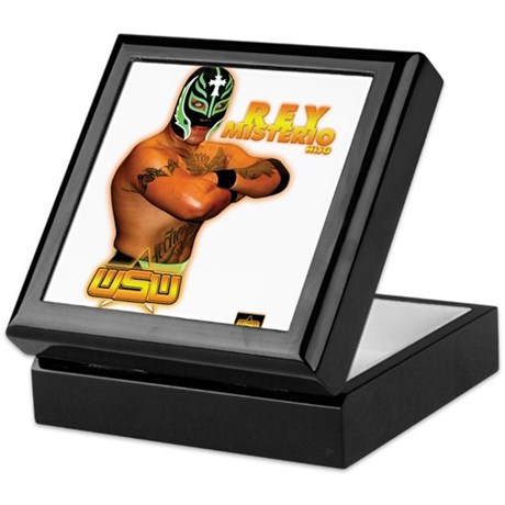 WSW REY MISTERIO HIJO HERO PO Keepsake Box