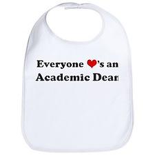 Loves a Academic Dean Bib