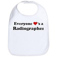 Loves a Radiographer Bib