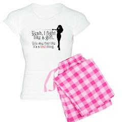 Fight Like a Girl Women's Light Pajamas