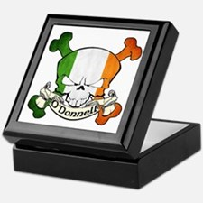 O'Donnell Skull Keepsake Box