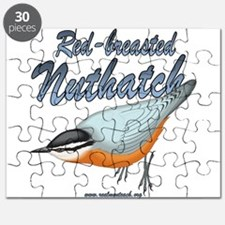 Red Breasted Nuthatch Puzzle