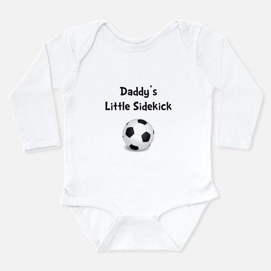 Daddy's Sidekick Soccer Long Sleeve Infant Bodysui