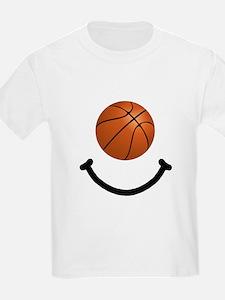 Basketball Smile T-Shirt