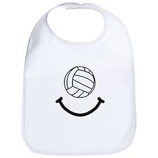 Volleyball Smile Bib