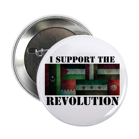 I Support the Arab Revolution Button