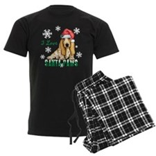 Holiday Basset Pajamas