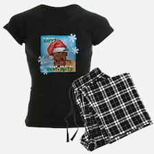 Holiday Dogue de Bordeaux Pajamas
