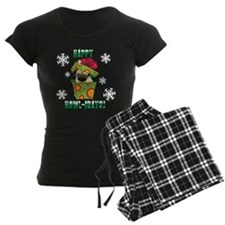 Holiday Pug Pajamas