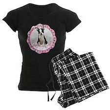 Boston Terrier Valentine Pajamas