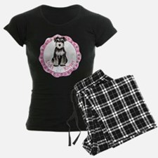 Miniature Schnauzer Valentine Pajamas