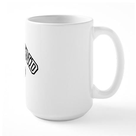 Greyhound Dad Large Mug
