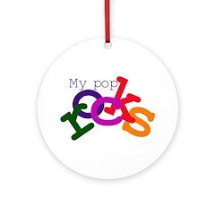 My Pop Rocks Ornament (Round)