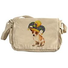 Party Chihuahua Messenger Bag