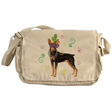 Party Min Pin Messenger Bag