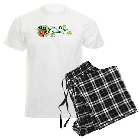 St. Patrick Irish Setters Men's Light Pajamas