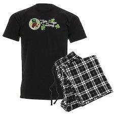St. Patrick Irish Red and Whi Pajamas