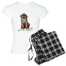 Earth Day Labrador Pajamas