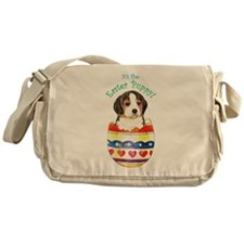 Easter Beagle Messenger Bag