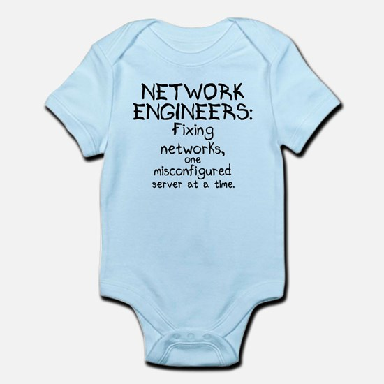 Network Engineers Infant Bodysuit